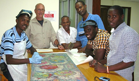 Mark Aronson's Haiti Cultural Recovery Project Experience Covered by Yale News